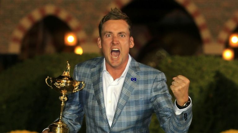 Ian Poulter led the Miracle of Medinah in 2012