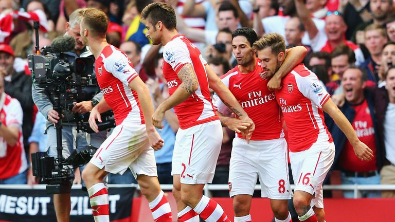 Aaron Ramsey: Snatched a dramatic winner at the Emirates