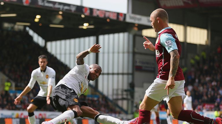 Ashley Young: Not in his natural position when playing at wing back