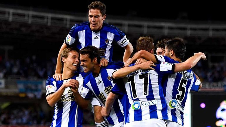 Real Sociedad: Celebrate David Zurutuza Veillet's third goal at Real Madrid