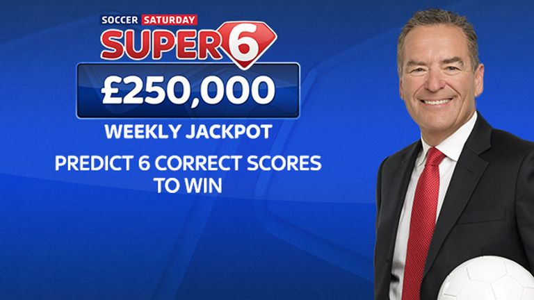 Soccer Saturday Super 6: Back for the new season with £250,000 up for grabs each week