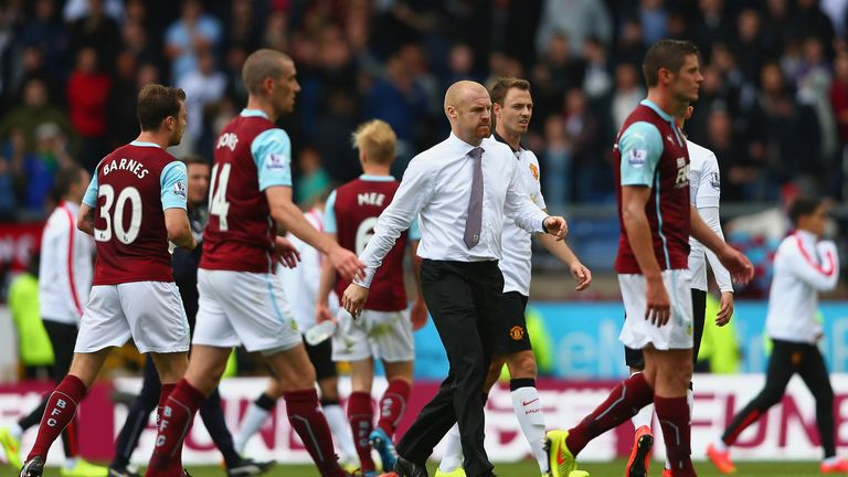 Sean Dyche: Happy with Burnley's point against Manchester United