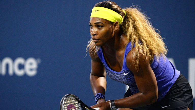 Serena Williams: The top seed came through against Ana Ivanovic to reach the semi-finals