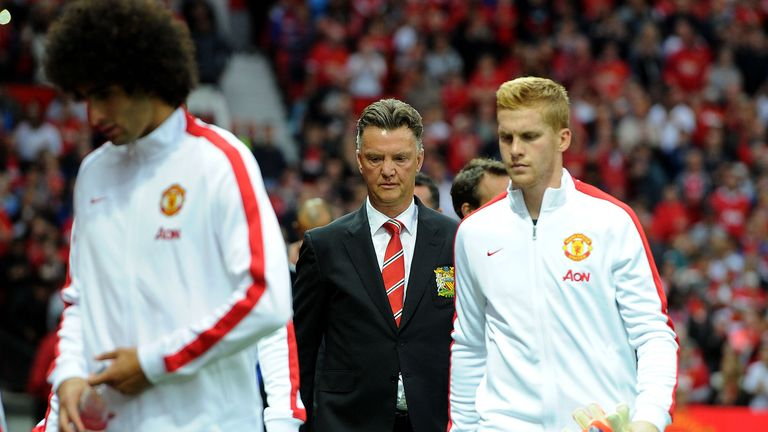 Louis van Gaal: Injury worries for season opener on Saturday
