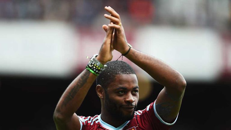 Alex Song is unveiled by West Ham