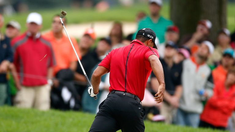 Tiger Woods: Forced to withdraw early with more back problems
