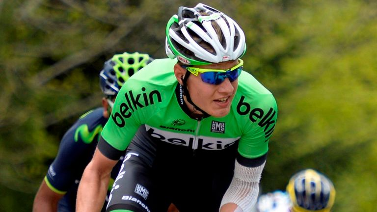 Wilco Kelderman will aim to build on his seventh place at May's Giro d'Italia