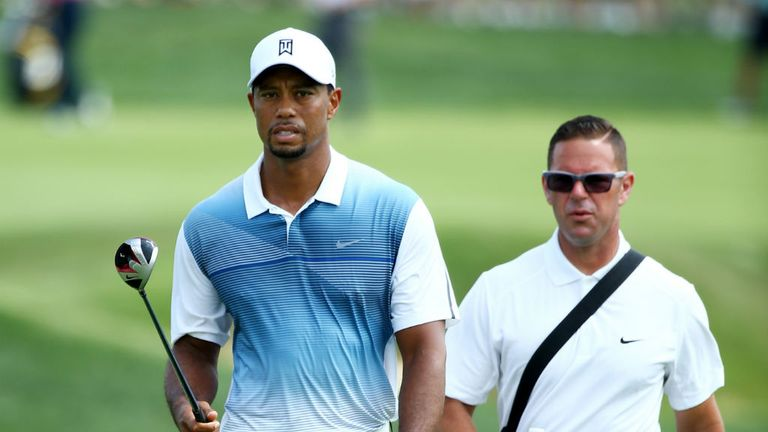Tiger Woods: With former coach Sean Foley