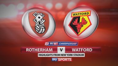 Rotherham 0-2 Watford