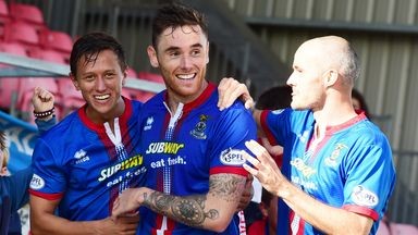 Greg Tansey: In second spell with Inverness