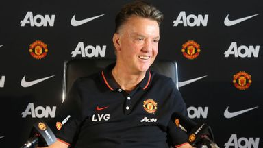 Manchester United manager Louis van Gaal has hit back at England coach Roy Hodgson.