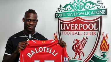 Mario Balotelli: Will get help from Steven Gerrard