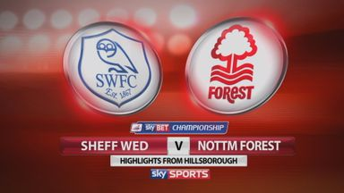 Sheffield Wed 0-1 Nottm Forest