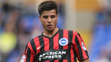 Joao Teixeira: Scored twice in Brighton's win over Ipswich