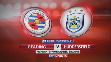 Reading 1-2 Huddersfield