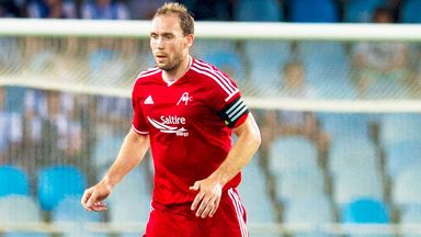 Russell Anderson: Aberdeen defender misses Friday's game against Motherwell.