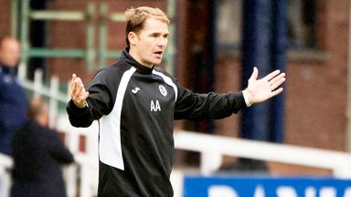 Alan Archibald: Partick boss pleased to see Ryan Stevenson open his goalscoring account for the club