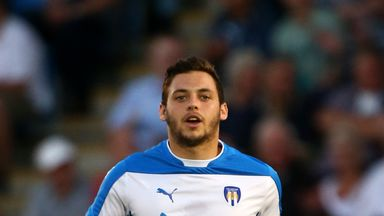 Wright has signed a new contract extention at Colchester