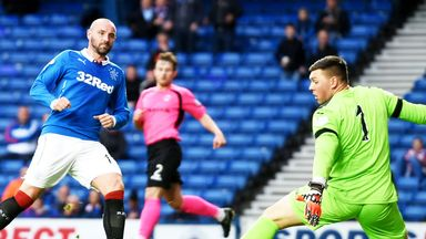 Kris Boyd: On target against Clyde in an 8-1 victory.