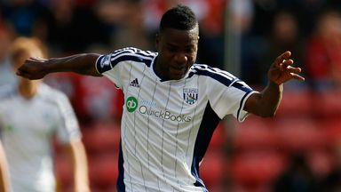 Brown Ideye: West Brom striker should return next week
