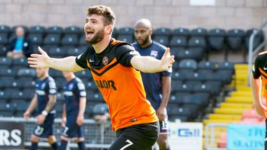Nadir Ciftci: Dundee United striker netted late penalty to beat Partick