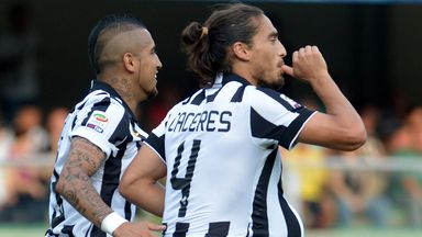 Martin Caceres: Ruled out for Juve