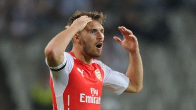 Aaron Ramsey: Could return for Arsenal against Manchester City