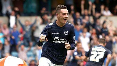Shaun Williams of Millwall celebrates