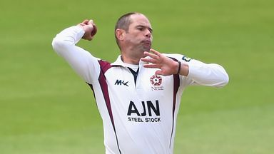 Andrew Hall: Has been at Northamptonshire since 2007