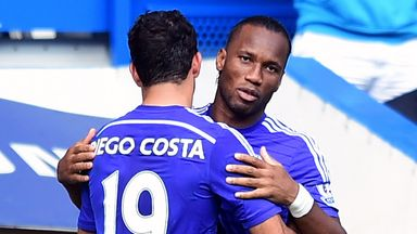 Didier Drogba: Replacing Diego Costa against Leicester