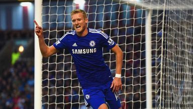 Andre Schurrle: Chelsea forward delighted to be back in action