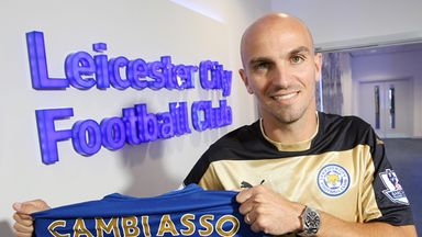 Cambiasso: Impressed with Leicester