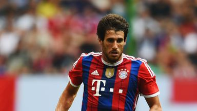Javi Martinez: Well on the road to recovery