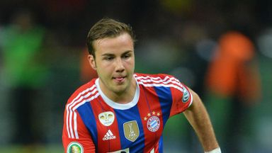 Mario Gotze: Helped himself to two goals
