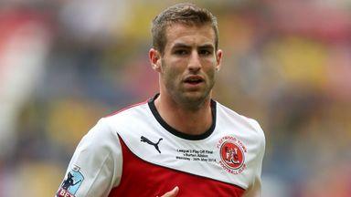 Matty Blair: Plenty of experience in League 2