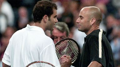 Sampras and Agassi will collide once again