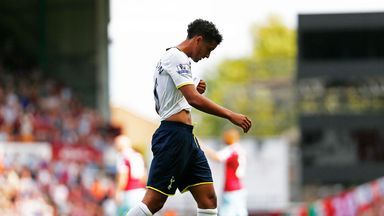 Kyle Naughton: Has suffered ankle ligament damage