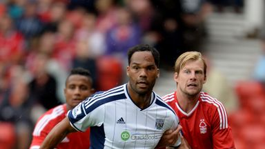 Joleon Lescott: West Brom defender hurt his knee against Nottingham Forest