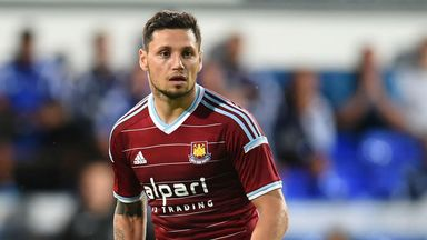 Mauro Zarate: Has made a bright start to life at West Ham