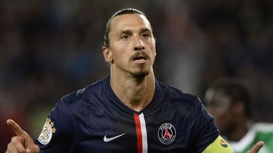 Zlatan Ibrahimovic: Has been back in training ahead of Marseille clash
