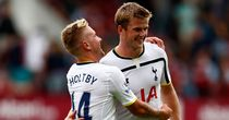 Eric Dier (right): Impressed on Tottenham debut