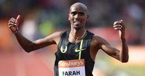 Farah wins 10,000m in Oregon