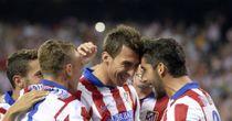 Mario Mandzukic: Netted crucial opening goal for Atletico Madrid
