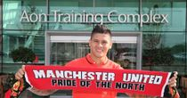 Marcos Rojo: Delighted to have joined Manchester United
