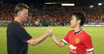 Shinji Kagawa: Has failed to impress Louis van Gaal since the Dutchman took over at Old Trafford