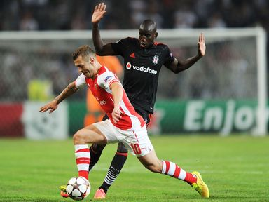 Wilshere: Expects a tough test next week against Besiktas