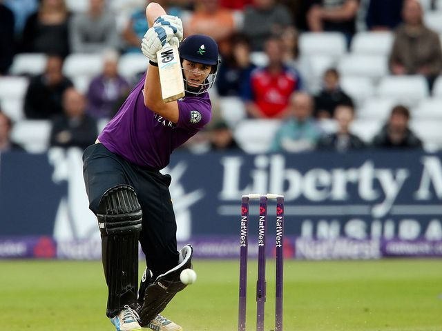 Alex Lees: Hit an unbeaten 69 at Scarborough