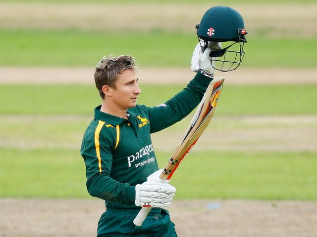 James Taylor blasted 146 not out for the Outlaws