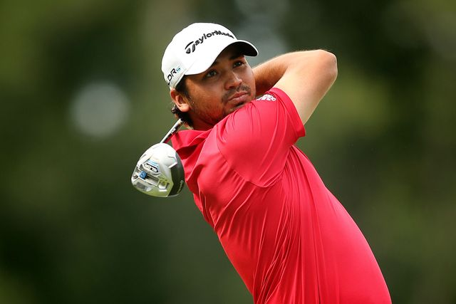 Jason Day in action on day three