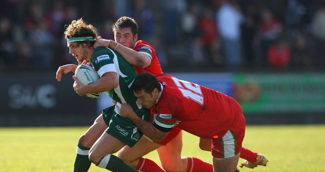 Ireland will take on Wales in Wrexham on November 2